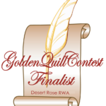 A CRAZY KIND OF LOVE is a Desert Rose RWA Golden Quill finalist