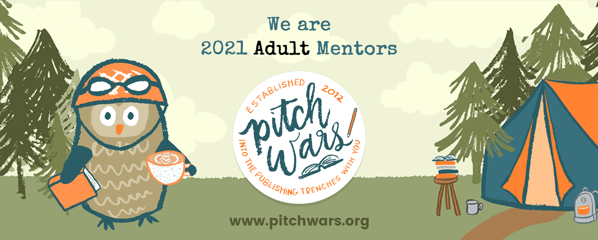We are 2021 Adult Pitch Wars mentors