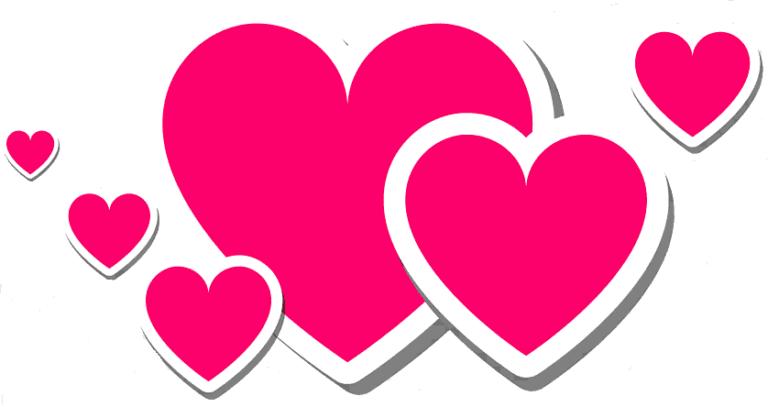More hearts