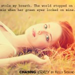 Happy Book Birthday Kelly Siskind!! CHASING CRAZY is Out!