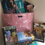 WIN a Kate Spade bag stuffed with @Kensingtonbooks Romance Paperbacks #Giveaway