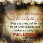 Release blitz for Kari Lemor FATAL EVIDENCE