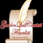 A CRAZY KIND OF LOVE is a Desert Rose RWA Golden Quill finalist